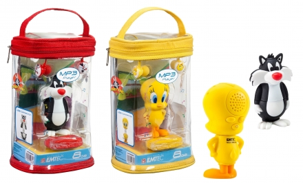 Tweety & Sylvester - Mp3 player for kids - Alessandro Paulis DESIGNSTUDIO